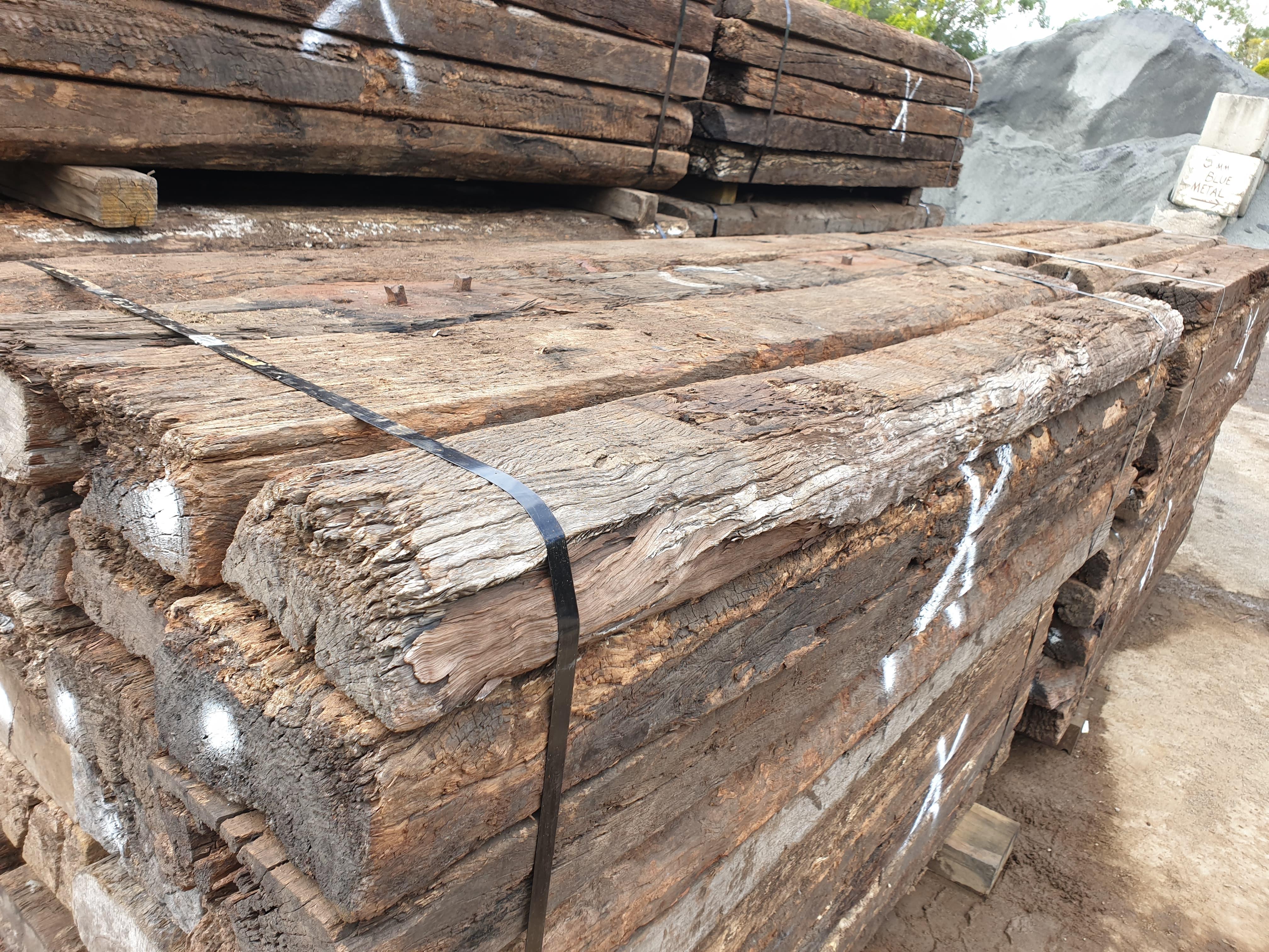Old Railway Sleepers – Sapar Landscaping Supplies